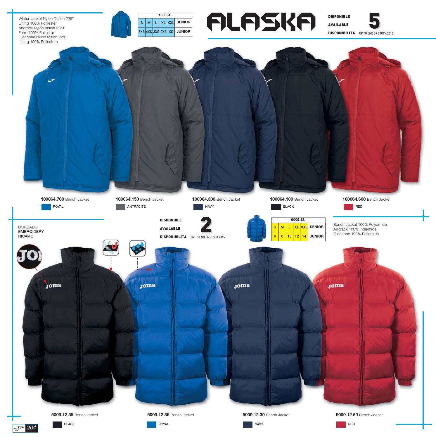 e71eee6cb9cd Куртки   Куртка зимняя Joma Alaska Everest 100064.300