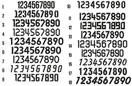 Вы можете выбрать шрифт набивки номеров или прислать свой(картинка  увеличивается) 26ceb9b3f8de9