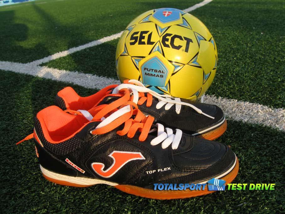 select futsal mimas и обувь Joma Top Flex