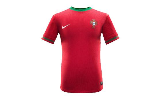 Форма футбольная Португалия 2012 Майка, шорты. Реплика