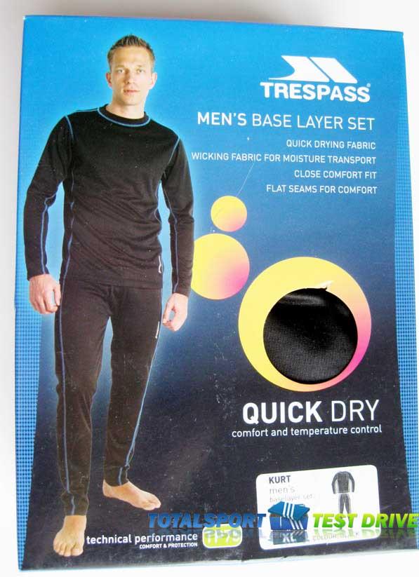 функциональное термобелье  Trespass Kurt
